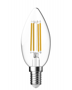 LED lamp GP 087472 E14 B35 Candle Filament FlameDim 4,5W 1 stuk